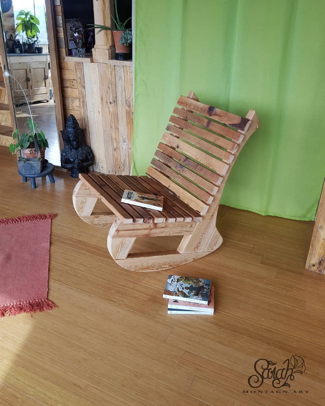 Rocking-chair « Coco »