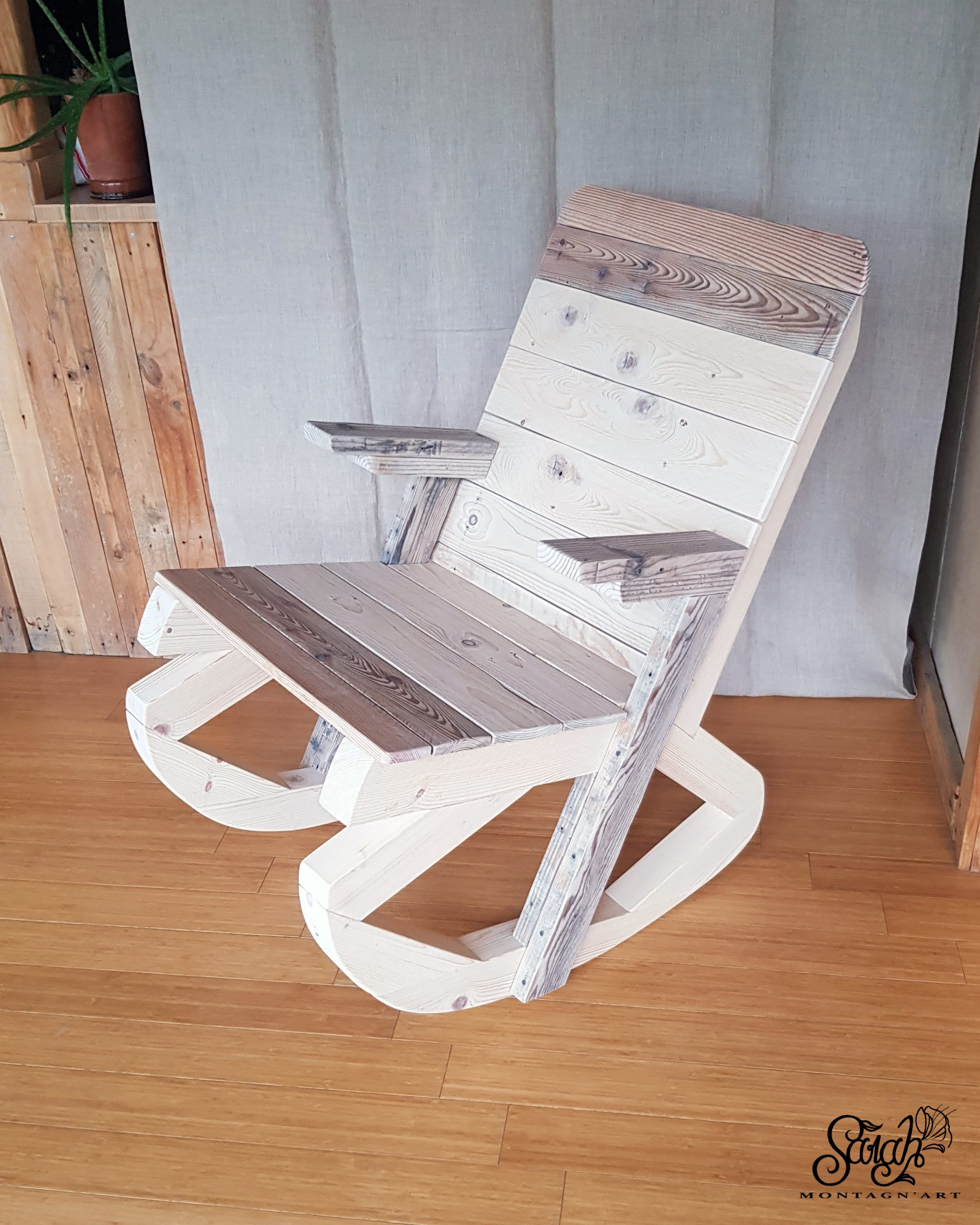Rocking chair « H »
